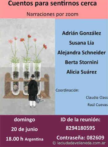 Narraciones por zoom - Diario La Ciudad de Avellaneda