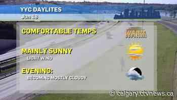 Calgary weather for Friday, June 18 - CTV Toronto