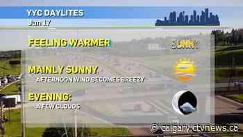 Calgary weather for Thursday, June 17 - CTV Toronto
