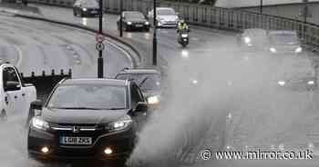 UK battered by 1 month of rain in a day with 39 flood alerts - and more to come