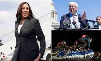 House Republicans demand Biden remove Harris as immigration czar as she still hasn't visited border