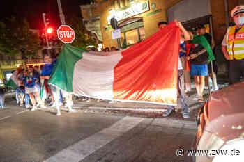Italien steht im EM-Achtelfinale: Party-Stimmung und Auto-Korso in Fellbach - Fellbach - Zeitungsverlag Waiblingen