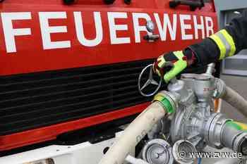 Feuerwehreinsatz in Fellbach: Wohnungsbrand stellt sich als Containerbrand heraus - Fellbach - Zeitungsverlag Waiblingen