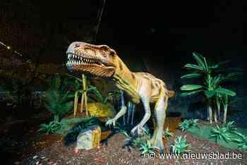 Tour & Taxis krijgt gezelschap van dinosaurussen