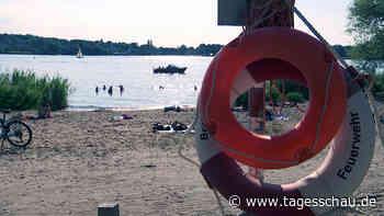"""""""Dann wird es schnell gefährlich"""": Rettungsschwimmer in Sorge"""