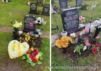 Mum heartbroken after flowers for three-month-old baby girl stolen from cemetery