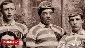 The black Scotland captain whose team trounced England - BBC News