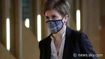 COVID-19: Nicola Sturgeon says Scotland 'likely' to keep coronavirus restrictions for a further three weeks - Sky News