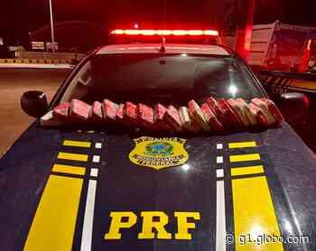 PRF apreende 21 kg de cocaína com passageiras de ônibus em Itaituba - G1