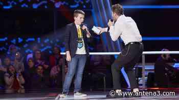David Bisbal canta 'Mucho más allá' con Santiago Padilla en las Batallas de 'La Voz Kids' - Antena 3