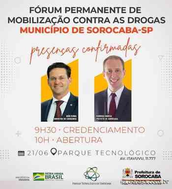Sorocaba sedia Fórum Permanente de Mobilização Contra as Drogas com a presença do ministro da Cidadania - Defesa - Agência de Notícias