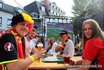 Jongeren genieten van EK bij Zwarte Ruiter (Turnhout) - Het Nieuwsblad