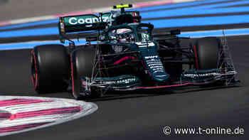 Formel 1: Sebastian Vettel fällt im Training weit zurück - t-online