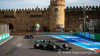 Sebastian Vettel schnappt sich Rang zwei in Baku - Tagesspiegel