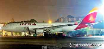 Avión de Iberia para Panamá fue Desviado a Cartagena - torreeldorado.co
