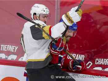 Liveblog: Richardson replaces Ducharme for Habs vs. Vegas in Game 3 - Cochrane Times Post