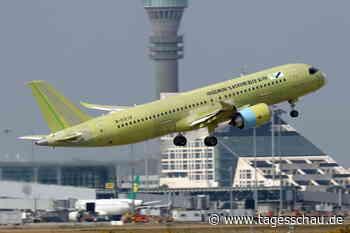 Chinas Passagierjet C919 hinkt im Zeitplan hinterher