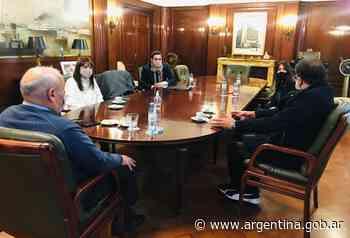 El titular de SIGEN, Carlos Montero, recibió a Rosario Lufrano y a Francisco Meritello - Argentina.gob.ar Presidencia de la Nación