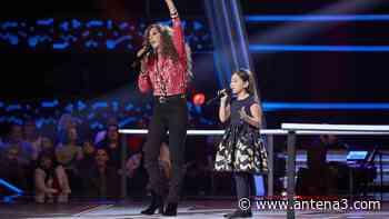 Rosario Flores canta 'No dudaría' con Alison Fernández en las Batallas de 'La Voz Kids' - Antena 3