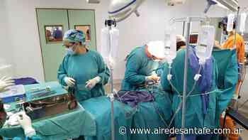 Rosario: se realizaron dos donaciones simultáneas - Aire de Santa Fe