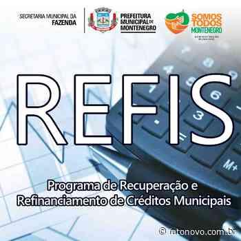 Dívidas com a Prefeitura de Montenegro podem ser refinanciadas a partir de hoje - Fato Novo