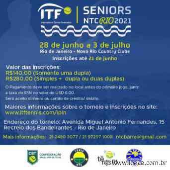 Inscrições para torneio Seniors Internacional do Rio de Janeiro terminam nesta segunda - LANCE!