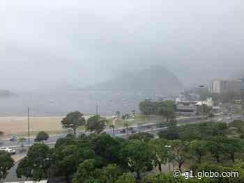 Rio tem manhã de chuva; instabilidade segue até segunda - G1