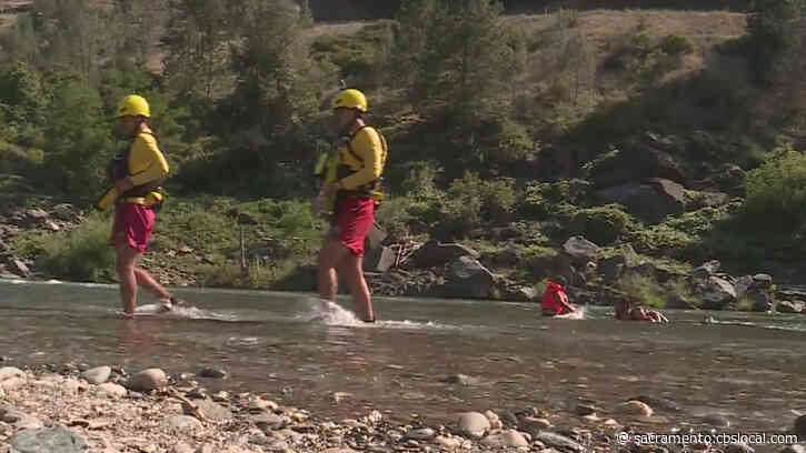 'First Of Their Kind': Swift Water Lifeguards Now Stationed At Auburn State Recreation Area