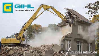 Baugeräteführer für Gebäude- Rückbau m/w/d (Vollzeit | Eppelborn), A. Gihl GmbH, Produktion und Handwerk, Stellenangebot - PresseBox