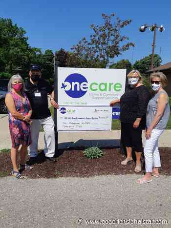 Maple Leaf Chapter IODE supports OneCare - Goderich Signal Star