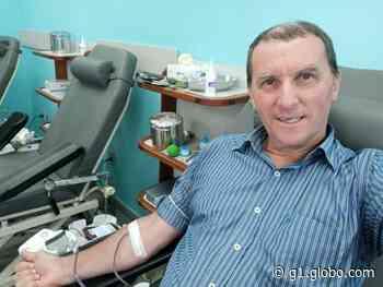 Doador 'sangue bom' de Barra Mansa é figura conhecida em hemonúcleos há mais de 40 anos - G1