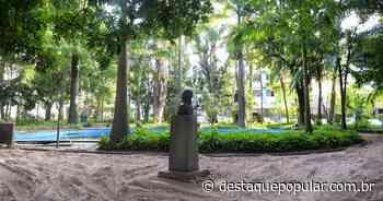 Prefeitura de Barra Mansa recupera o piso do Parque Centenário - Destaque Popular