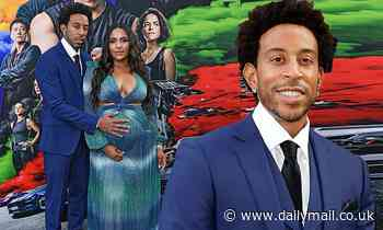 Ludacris and pregnant wife Eudoxie Mbouguiengue grace the red carpet at the F9 premiere