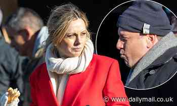 Karl Stefanovic and Ally Langdon warm up in Queenstown - Daily Mail
