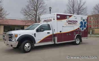 Photo: Langdon (ND) Accepts Delivery of Horton Type 1 Ambulance | JEMS - JEMS.com