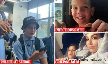 Devastated mother reveals teen son took his own life after being bullied at school