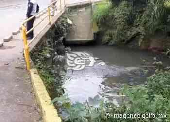 Encuentran cadáver flotando en río Pintores de Coatepec - Imagen del Golfo