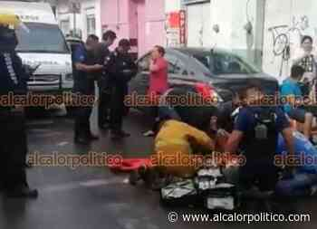 En Coatepec, desplome de alero de concreto mandó a 4 personas al hospital - alcalorpolitico