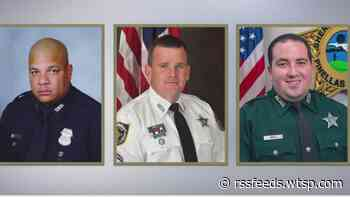 Tampa Bay area roadways designated to honor 3 fallen law enforcement officers