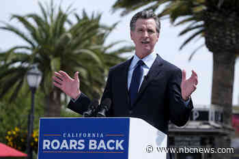 Man charged with assault after incident with California Gov. Newsom