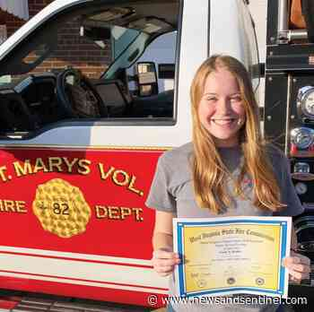 Trailblazer: St. Marys VFD welcomes Hadley as first permanent female firefighter - Parkersburg News