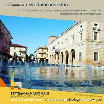 A Castel Bolognese il 23 giugno il Comune inaugura la panchina viola della gentilezza • - CastelBolognese news