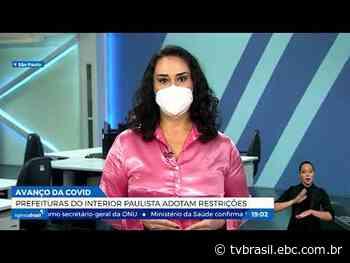 Covid-19: Rio de Janeiro antecipa o calendário de vacinação | Repórter Brasil | TV Brasil | Notícias - TV Brasil