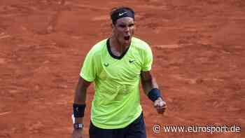 Rafael Nadal: Idee bei Eurosport-Übertragung führt zu nationalem Tennistag - Eurosport DE