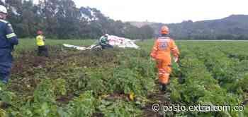 Atención: Avioneta se precipito a tierra en Sierra de Tabio - Extra Pasto