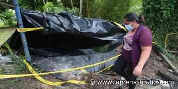 Cárcavas amenazan a los vecinos de Jardines de San Marcos - La Prensa Grafica