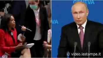 Giornalista statunitense mette in crisi Putin con una domanda 'bomba' e diventa un'eroina di Twitter - Video - La Stampa