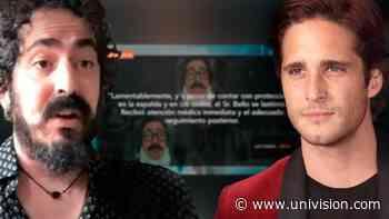 Producción de 'Luis Miguel, La Serie' responde sobre las lesiones que Martín Bello sufrió grabando con Diego Boneta - Univision