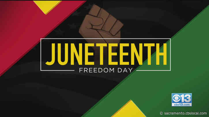 Sacramento Mayor Joins Group Pushing For Reparations For Black Communities As Country Celebrates Juneteenth As Federal Holiday