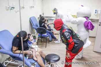 Saúde Projeto Pronto-Sorriso leva alegria às crianças em tratamento de saúde no Abelardo Santos Unidade - Para